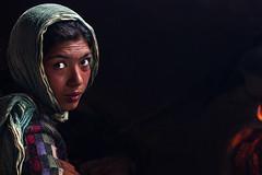 Eyes (Tobias Ortmann) Tags: gipsy woman beatiful eyes fire potrait india naranag mountains travel