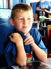 Fionn (e r j k . a m e r j k a) Tags: pennsylvania adams gettysburg familytree fionn lad pub lunch candid lincolnhighway us30 erjkprunczyk watercolor