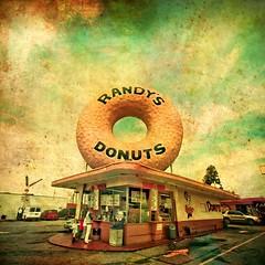 Randy's Donuts, Plate 4 (Thomas Hawk) Tags: california randys inglewood unitedstatesofamerica donut doughnut doughnuts donutshop donuts usa unitedstates losangeles randysdonuts fav10 fav25