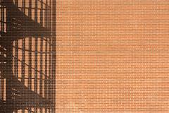 Shadow of a spiral staircase (Jan van der Wolf) Tags: map15775v1 wall muur shadow shadows shadowplay schaduw staircase stairway trap wenteltrap bricks stenen bakstenen minimalism minimalistic minimalisme minimal minimlistic denhaag composition compositie