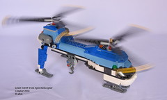 LEGO 31049 Twin Spin Helicopter (KatanaZ) Tags: lego31049 twinspinhelicopter lego creator helicopter copter chopper
