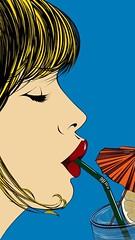 """ Summer Breeze "" 2016 by Deborah Azzopardi / Pop Art (lalek72.popart) Tags: deborahazzopardi popart artprint art popartculture summerbreeze popartworld"