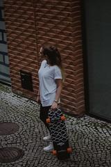 Elise (qauqe) Tags: portrait urban streetstyle skate skateboarding skateboard watch accessory vsco vscocam lightrom black white photography bokeh night