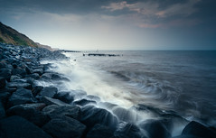 Corton 28/08/2016 (Matthew Dartford) Tags: eastanglia beach bokeh coast coastal corton defences groynes happisburgh leadinglines longexposure norfolk rock rocks sea water