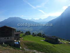 20150927_104228 (coldgazemedia) Tags: photobank stockphoto scenery schweiz switzerland swissvillage swissalps landscape naters brig birgish mund alps mountain swisshuts alpine alpinehut bluesky blue green grass grassland meadow