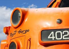 Royal Gorge F7 (Laurence's Pictures) Tags: royal gorge train engine f7 locomotive classic streamliner passenger rail railway emd gm electromotive steel transportation
