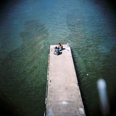 War Dogs (Shot In The Street) Tags: streetphotography swap analogue jetty bristol street water wardogs kodak holga mjscott portra film colour