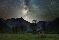Groer Ahornboden (TimoFrster) Tags: ahornboden groser karwendel astro milky way lonelyspeck austria mountains mountain alps