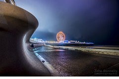 Blackpool Pier (Jakedonnelly2493) Tags: blackpool photography nightphotography wideangle blackpoolpier