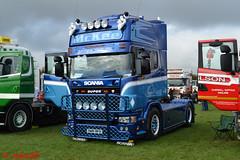 Scania 164L 'McKee' reg S88  MFS (erfmike51) Tags: scania164l artic truck v8 lorry mckee swedefest2016