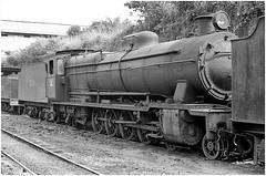 Dumped at Dunkwa (Bingley Hall) Tags: rail railway railroad transport train transportation trainspotting locomotive engine steam africa ghana 482 dunkwa vulcanfoundry dumped goldcoastrailway