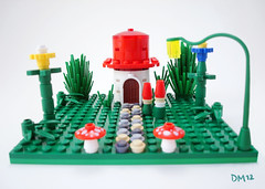A Gnome Home (Desiree Muller) Tags: mushroom gnome lego micro