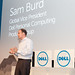 Dell's Sam Burd at IFA in Berlin, Germany