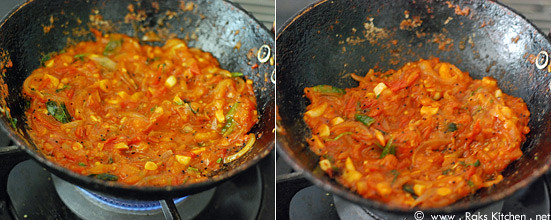 Tomato rice recipe step 3