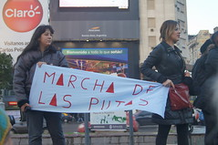 "Marcha de las putas Buenos Aires 2011 • <a style=""font-size:0.8em;"" href=""http://www.flickr.com/photos/76041312@N03/7926560526/""  on Flickr</a>"