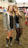 Suzanne O'Connor and Jen Walsh at Casa Bacardi at Electric Picnic