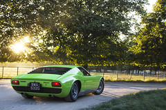 Sunset. (Alex Penfold) Tags: auto camera sunset sun verde green cars alex sports car sport mobile set canon leaving photography eos photo cool flickr image awesome flash picture s super spot exotic photograph classics salon spotted hyper lamborghini supercar spotting exotica sportscar 2012 sportscars supercars prive penfold miura bwa spotter jhw hypercar 60d hypercars alexpenfold bwa523g 523g