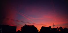 Let's make a night to remember (Lisse Wets) Tags: street pink blue sunset red sky sun color colour night clouds photography evening nikon adobephotoshop purple adobe nik 2012 d5100 nikond5100 lissewets lissewetsphotography
