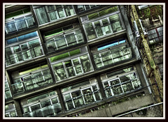 legos (BettieBlu) Tags: street city windows urban colour vancouver scenery balconies hdr eastvan urbanlandscape bettieblu