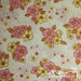 Vintage sheet - pink/yellow floral