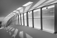 San Jose City Hall Plate 11 (StefanB) Tags: california light shadow bw window monochrome architecture cityhall sanjose spine geotag 2012 em5 918mm flvonmirikr