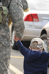 Home at last (The U.S. Army) Tags: family usa us honor homecoming return nationalguard northdakota nd fargo guardsman hometownheroes