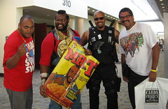 """""""Hangin' with Mr. T and Da Boyz"""" (MorpheusBlade) Tags: tattoo costume cosplay muscle bald superhero mrt comicon tactical babaracus daywalker baltimorecomicon baltimorecomiccon bladetheseries bladehouseofchthon bladethevampireslayer bladethevampirekiller bladethevampirehunter 2012baltimorecomicon 2012baltimorecomiccon"""