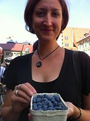Jessica's blueberries