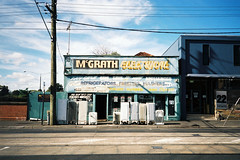 Mcgrath Electrical (Thomas Powell) Tags: film bar 35mm buildings milk australia melbourne victoria yashica t4