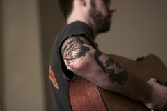 (Madeline Irene) Tags: portrait monster tattoo guitar candid documentary irene madeline
