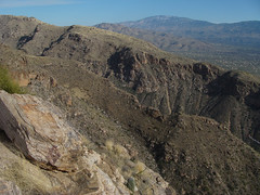 A View Into Bear Canyon from Blackett Ridge (ToddStapleton) Tags: arizona southwest catalina desert tucson catalinamountains sabinocanyon santacatalinamountains santacatalina blackettsridge blackettsridgetrail toddstapleton sabinocanyonnationalrecreationarea