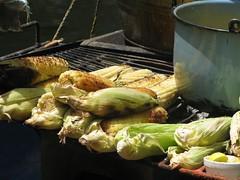 grill alimento mexican cocina ear parrilla tradition asado product cob ...