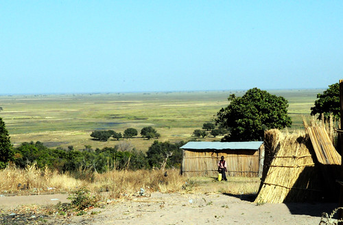 A scenery of the Barotse Floodplain, Zambia. Photo by Georgina Smith, 2012.