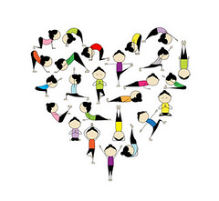 The Law of Karma (The American Yoga Academy) Tags: people dog motion cute love girl sport yoga set lady female illustration pose relax person design sketch healthy women energy cobra power heart graphic exercise action body character cartoon lifestyle stretch mat health gymnastics mind warrior balance strength recreation meditation posture practice care relaxation shape fitness vector fit aerobics physical russianfederation