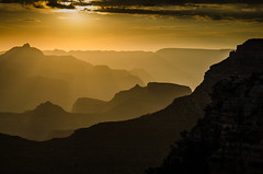 Grand Canyon Sunrise (McKluit) Tags: park sunset arizona usa landscape south grand canyon national rim