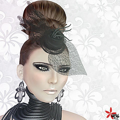 Luxury (Wicca Merlin) Tags: new woman news art hat fashion pose hair blog 3d clothing model photographer modeling lace avatar formal style jewelry blogger sl secondlife couture modelpose formalattire nikola lode highfashion newrelease xplosion virtualworld newreleases modelposes femaleclothing unbra slfashion 3dpeople slclothing couturehat slstyle modelingpose modelingposes silkenmoon chirzakavlodovic fashionposes wiccamerlin femalewear metavirtual fashioninpixels loovusdzevavor maliciapython