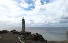 Capelinhos lighthouse (sharksfin) Tags: lighthouse volcano 1958 1957 azores faial capelinhos vulcao acores
