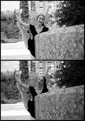 El trabajo ms productivo es el que sale de las manos de alguien contento. (dMadPhoto) Tags: madrid city girls bw beauty portraits dance ballerina twin ciudad bn retratos baile calles bailarina madariaga mjdmg dmadphoto dmadphotogmailcom