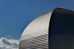 Dome (Matthias Harbers) Tags: light sky japan photoshop nikon institute research dome labs dxo yokohama kanagawa hdr topaz riken nmr 18200mm 3xp photomatix d7000 rikenyokohamainstitute