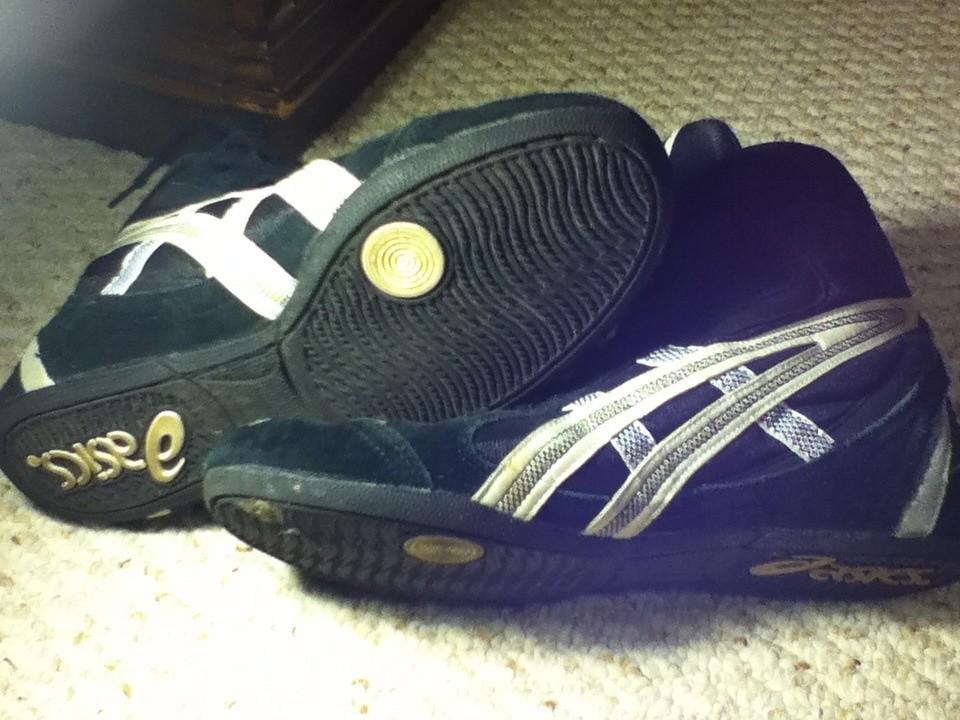 Customized Nike Wrestling Shoes