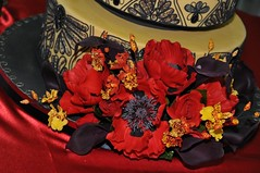 Danza del Deseo (flourgirl2007) Tags: wedding red roses cake competition matador ossas