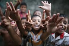 The SPIRIT of my NEIGHBOURS (N A Y E E M) Tags: home kids neighbours bangladesh slum carwindow chittagong rabiarahmanlane