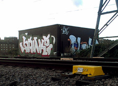 Sanke (delete08) Tags: street urban streetart london graffiti delete