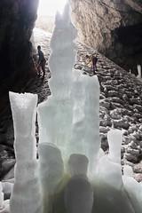 Radiša Živković - Summer adventures (Radisa Zivkovic) Tags: white mountain nature nikon europe d70 cave hikers icesculptures montenegro icecave crnagora durmitor cavedecorations ledenapecina