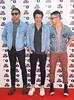 Nate Ruess, Andrew Dost and Jack Antonoff of Fun BBC Radio 1's Teen Awards 2012