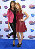 Zendaya Coleman and Bella Thorne Make Your Mark: Shake It Up Dance Off 2012 at the LA Center Studios - Arrivals Los Angeles, California