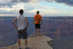 Grand Canyon_Stopp! (:: edgar 37 :: 1.8 Million + views :: THANKS !!) Tags: blue sunset arizona usa sun clouds canon cloudy grandcanyon unitedstatesofamerica bluesky canyon amerika ef70200mmf4lisusm canoneosd canoneos5dmarkii