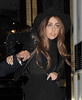 Lady Gaga leaves The Ecuadorian Embassy at midnight