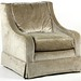 102. Custom Oversized Upholstered Chair