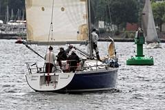 """Blanc Blue"" First 36.7 (winchman2010) Tags: sailing segeln regatta yachts boats kiel baltic ostsee welcomerace"